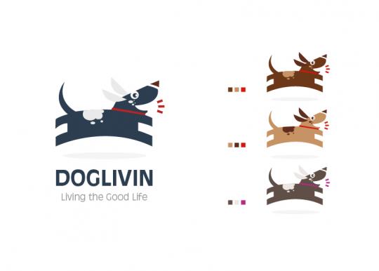 DogLiving Logo