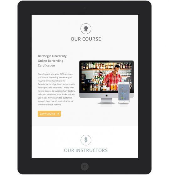 Barvirgin.com Course Details