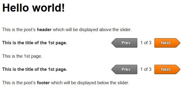 Theia Post Slider WordPress plugin